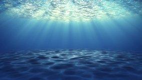 Slow motion video Air bubbles explode floating releasing air sea botton. Water surface 4K 3D Green Screen loop Animation. Bubbles, Flow, Fresh, Ocean, Underwater, Water, Aqua, Bath Soap, Liquid.