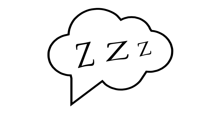 Z-z-z text on text bubble. Printable graphic tee. Design doodle for print. Colorful tag. Zzz Cartoon hand drawn comic style. Icon for sleeping mode.   Shutterstock HD Video #1061160940