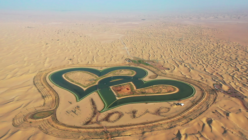Love Lakes Dubai Stock Video Footage - 4K and HD Video Clips   Shutterstock