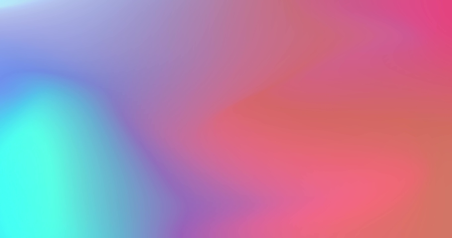 Abstract holographic gradient rainbow animation. 4K motion graphic. Color neon gradient. Moving abstract blurred background. The colors vary with position, producing smooth color transitions.   Shutterstock HD Video #1061223874