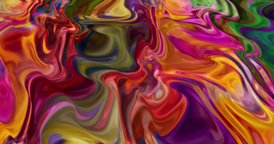 Abstract colorful animation .Multicolor liquid background.Moving abstract multicolored background   Shutterstock HD Video #1061248759