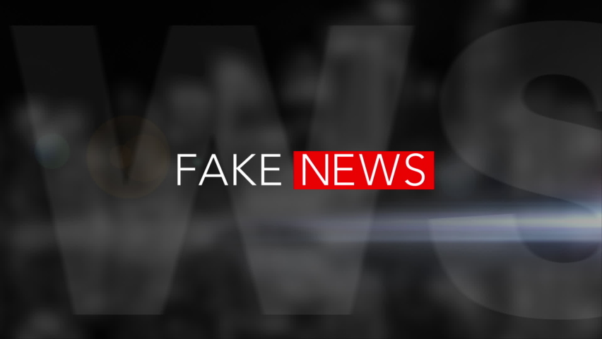 """""""FAKE NEWS"""" 3D Motion Graphic with black background. We also have more NEWS graphics! Check out this seller's other videos for more. Royalty-Free Stock Footage #1061297683"""