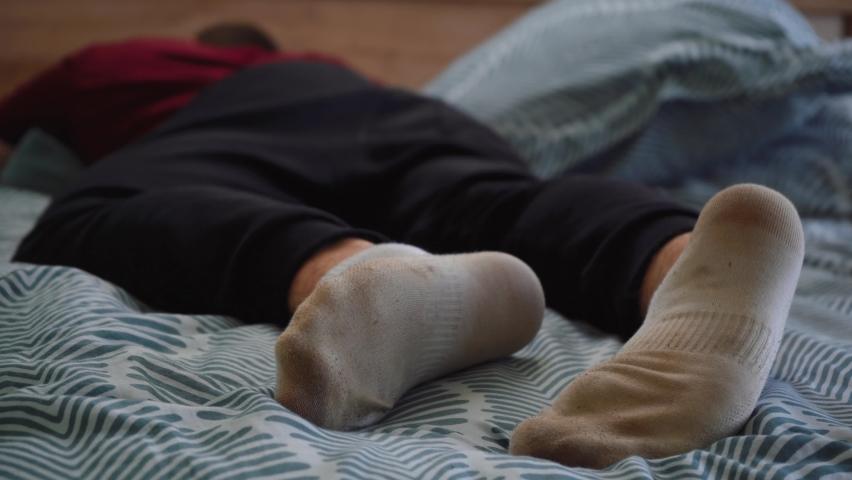 Guys Dirty Socks