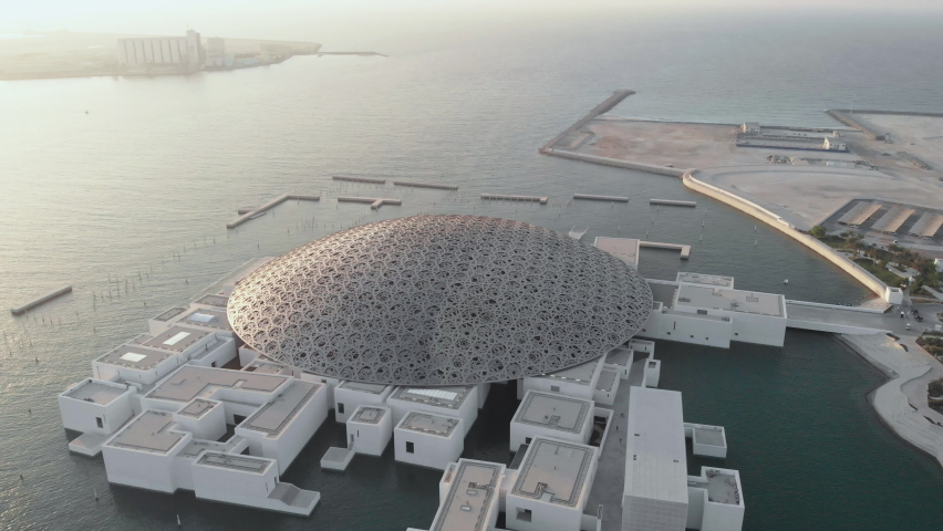 The Louvre Abu Dhabi, October 25 2020 ( Ariel)
