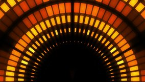 abstract background orange color abstract background Equalizer disco neon led stage