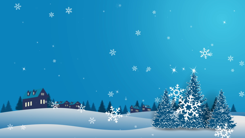 Motion graphics Merry Christmas concept. Happy Christmas companions. Santa Claus, Snowman In gift box. | Shutterstock HD Video #1062016891