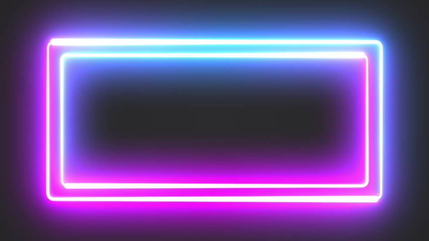 Abstract seamless background blue purple spectrum looped animation 4k glowing neon line Abstract background web neon box pattern LED screens projection technology #1062192037