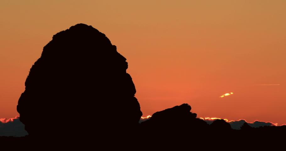 Madain Saleh Petra Saudi Arabia Red Light Sunrise Timelapse