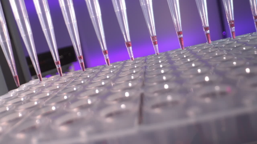 pcr machine for polymerase chain reaction (PCR) technique is ubiquitous in laboratories Royalty-Free Stock Footage #1062369739