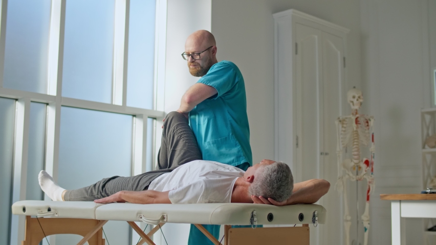 The Patient Uses Physical Therapy to Recover from Surgery and Increase Mobility. The Doctor Works on Specific Muscle Groups or Joints. Freedom from Chronic Back Pain