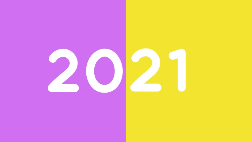 2021 Happy New Year Background colorfully. Christmas background 2021 new year holiday happy birthday new year party background. NEW VERSION 2021  | Shutterstock HD Video #1063088839