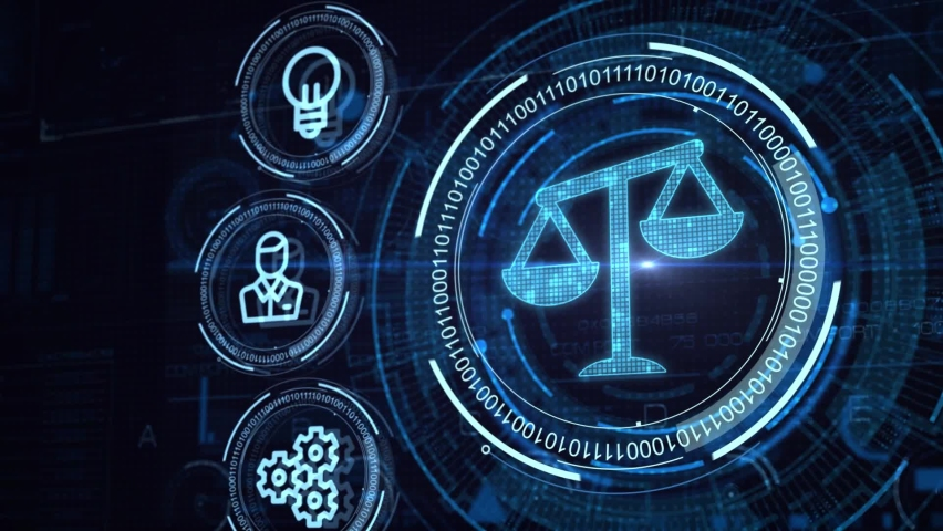 Business, Technology, Internet and network concept. Labor Law Lawyer Legal. Royalty-Free Stock Footage #1063432969