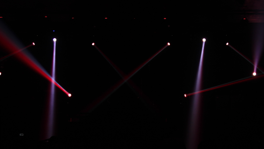 Abstract Background of Party Concert. colorful light and sound at concert,music festival. Blur image of concert,Celebration party.  | Shutterstock HD Video #1063574191