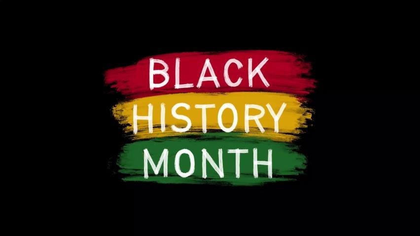 Black History Month Hand-Drawn Animation 4k | Shutterstock HD Video #1063604794