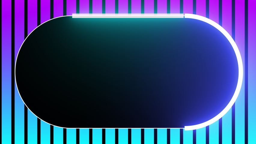 NEON glow color moving seamless art loop background. Apple ProRes is a high quality, lossy video compression format ProRes 4:2:2 (HQ) codec offers the utmost possible quality highest data rate version Royalty-Free Stock Footage #1063656352