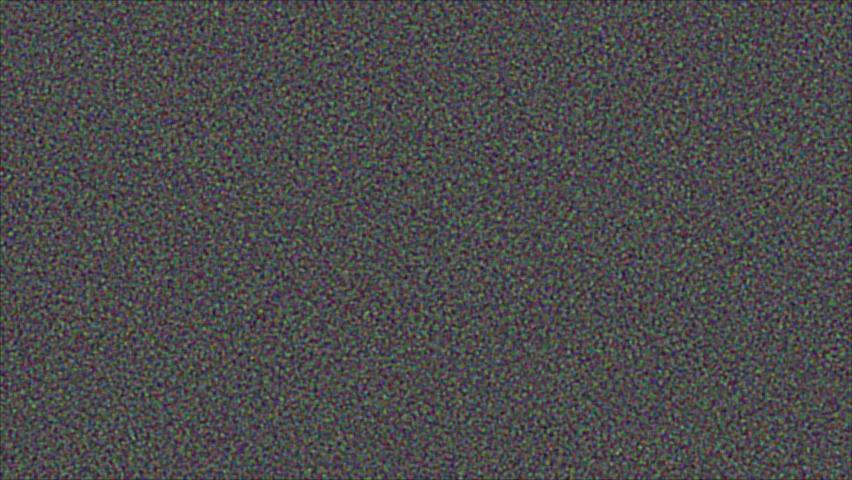 white noise tv screen 4k footage