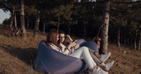 Inflatable Hammock Stock Video Footage - 4K and HD Video Clips |  Shutterstock