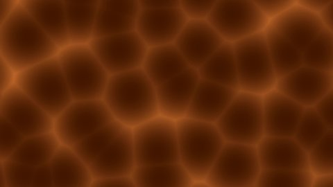 New brown dark bubble cell pattern zoom in abstract background animated, Blur pattern animated