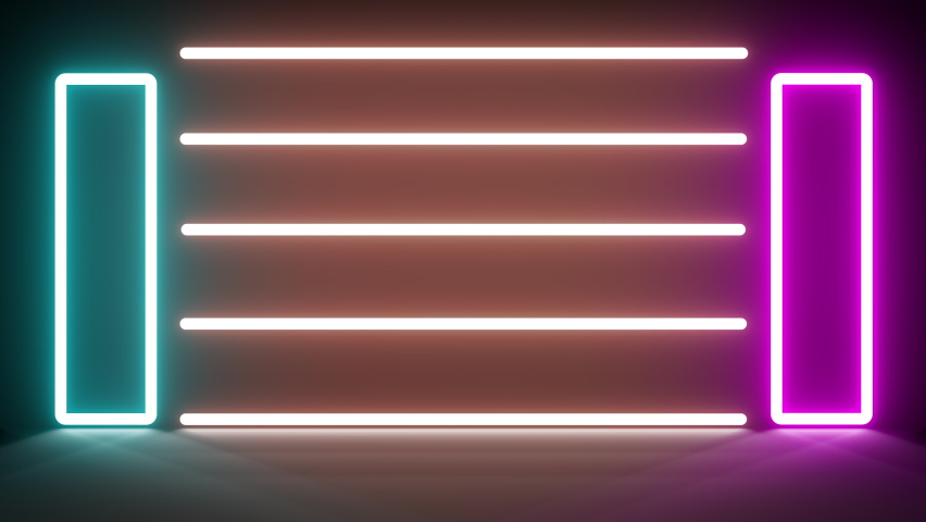NEON ART glow color moving seamless art loop background. Apple ProRes high quality lossy video compression format ProRes 4:2:2 (HQ) codec offers the utmost possible quality highest data rate 4k UHD Royalty-Free Stock Footage #1065237289