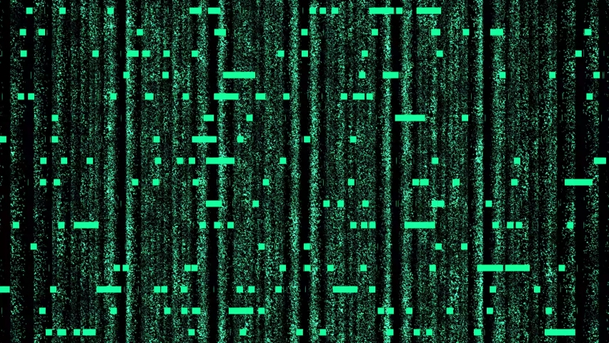 4k Digital technological screen and data files. 3D Big Data Digital tunnel frame.  Binary code particles network. Technological and connection motion background. Green data server. | Shutterstock HD Video #1065628354