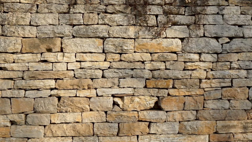 A Stone Wall in a Stone House in Rural China | Shutterstock HD Video #1065674914