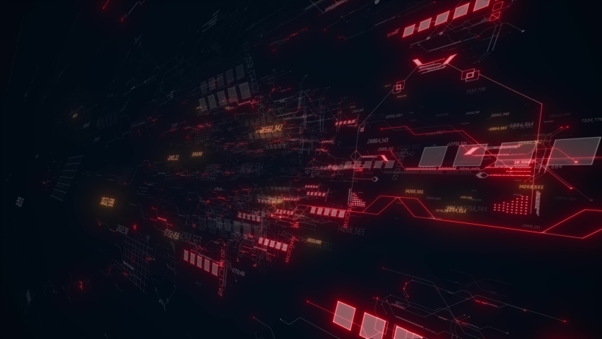Abstract background with red line | Shutterstock HD Video #1065687271