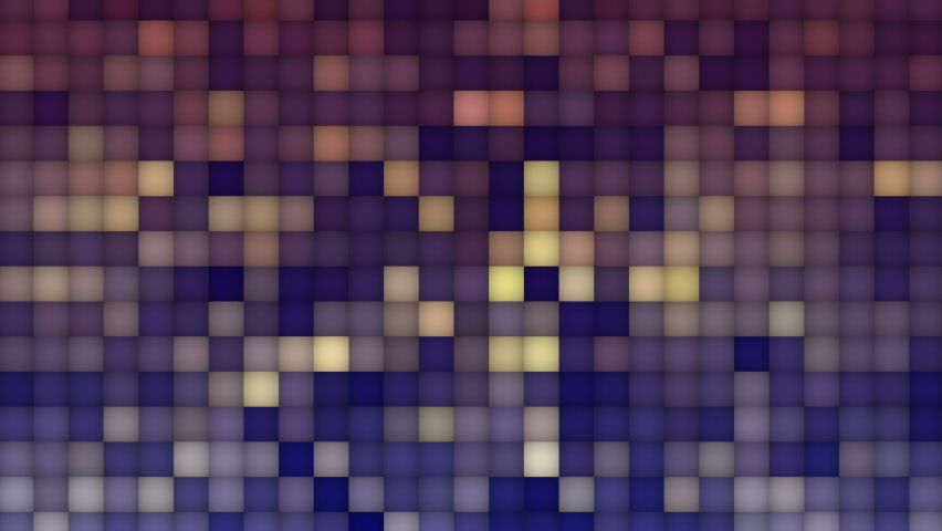 Numerous square grids filled the area and flashed continuously. | Shutterstock HD Video #1065689593