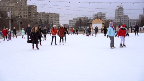 Central Park Christmas 2021 Central Park Skating Stock Video Footage 4k And Hd Video Clips Shutterstock