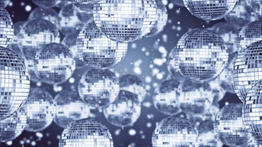 Disco Ball Silver Looped Video | Shutterstock HD Video #1065891241
