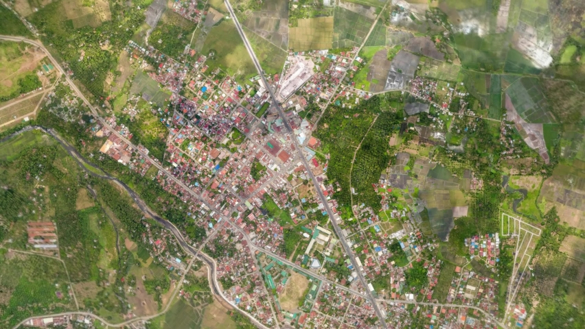 Zoom in from space and focus on Philippines Davao. 3D Animation. Background for travel intro.  | Shutterstock HD Video #1065900187