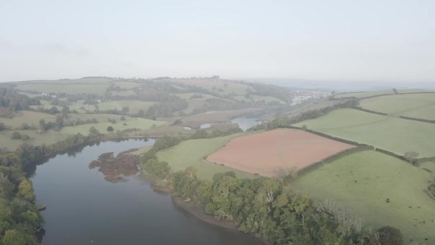 River Dart Totnes Devon England | Shutterstock HD Video #1065947758