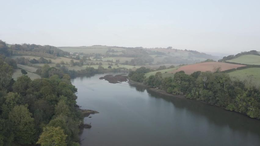 River Dart Totnes Devon England | Shutterstock HD Video #1065947767