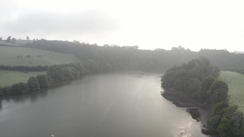 River Dart Totnes Devon England | Shutterstock HD Video #1065947770