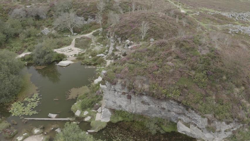 Haytor Quarry Dartmoor Devon England | Shutterstock HD Video #1065947902