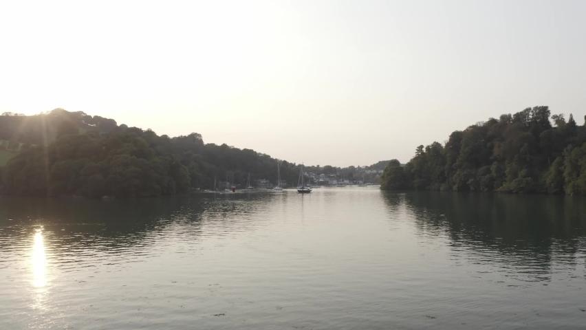 The River Dart Devon England | Shutterstock HD Video #1065948982