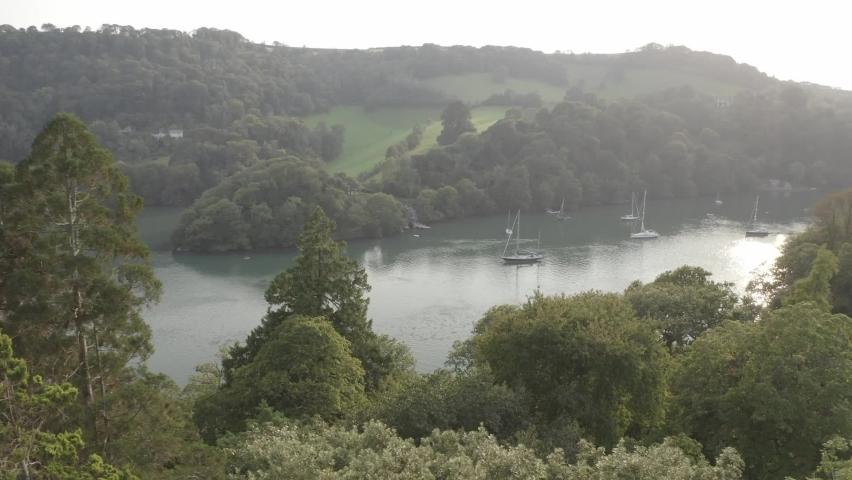 The River Dart Devon England | Shutterstock HD Video #1065948997