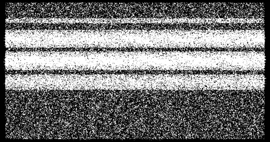 Vintage television. Analog Static Noise texture. Monochrome, black and white offset noise. Screen damage TV effects and artifacts. VHS. Bad interference. Retro 80s, 90s Royalty-Free Stock Footage #1066024501