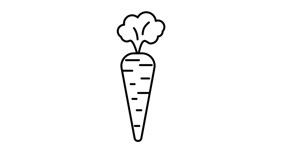 Carrot icon animation. For website, banner, motion graphics, apps, and social media posts. | Shutterstock HD Video #1066032439