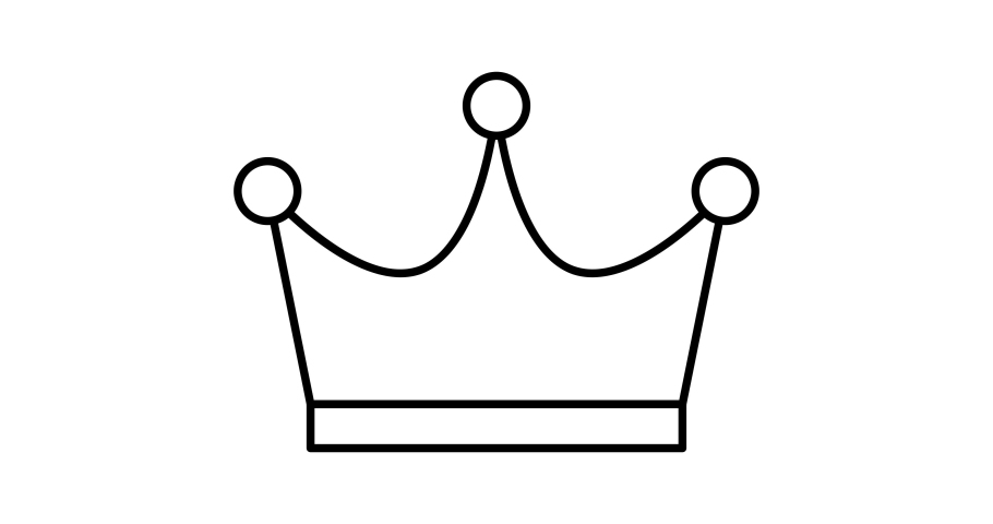 Crown icon animation. For website, banner, motion graphics, apps, and social media posts. | Shutterstock HD Video #1066032646