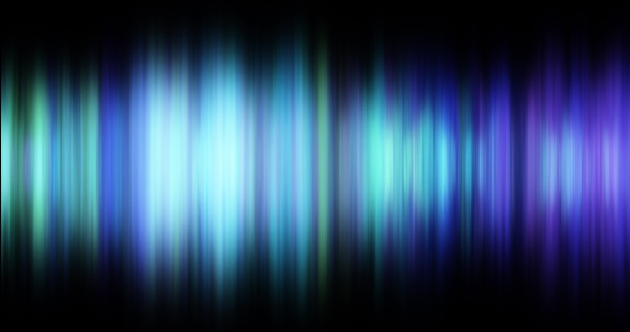 Defocussed lines of green and blue tones glowing and pulsating on black background. energy, electricity, colour and movement concept, digitally generated video. | Shutterstock HD Video #1066052956