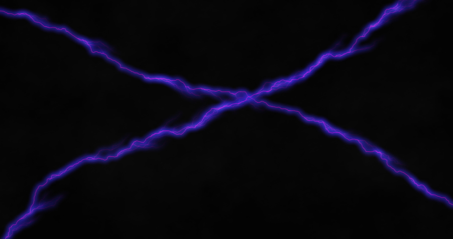 Purple lines of electrical current crossing on black background. energy, nature, electricity, light and movement concept, digitally generated video. | Shutterstock HD Video #1066053391