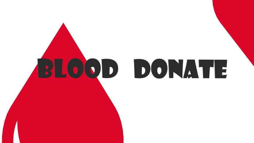 Blood donate please motivation animation | Shutterstock HD Video #1066071406