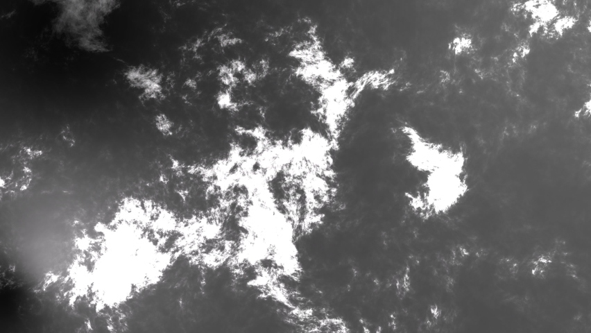 Black and white cloud merging seamless pattern, 3D animation  | Shutterstock HD Video #1066072750