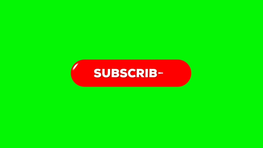 Subscribe motion graphic on green screen   Shutterstock HD Video #1066174891