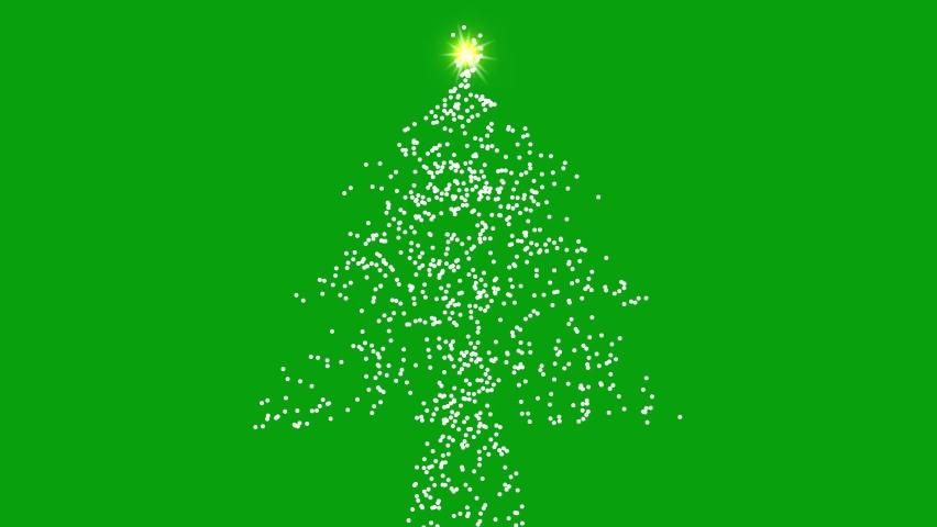 Christmas tree green screen motion graphics   Shutterstock HD Video #1066181953