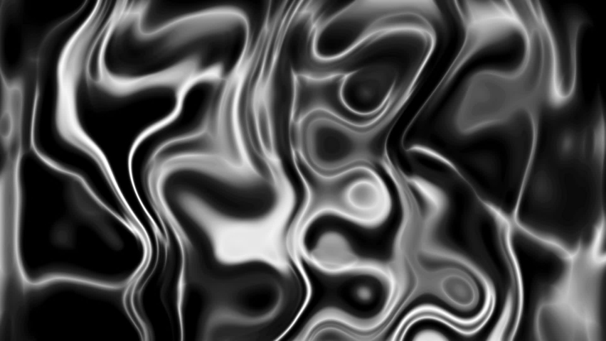 Charming Glossy Black And White Liquid Background Matte, Contrast Stream Of Molten Lead or Silver | Shutterstock HD Video #1066208809