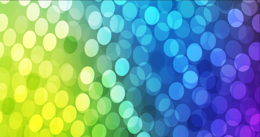 4K looping light multicolor footage with disks. Modern abstract animation with gradient circles. Flicker for designers. 4096 x 2160, 30 fps. | Shutterstock HD Video #1066208869