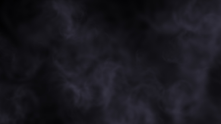 This stock motion graphics video shows smoke billowing gray on a black background. | Shutterstock HD Video #1066213606