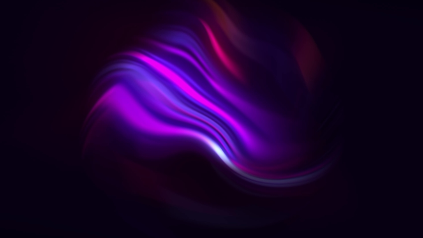 Abstract 3d animation of a colorful vibrant sphere, motion design. Abstract technology, science, engineering and artificial intelligence wavy motion background. 4k seamless looped video. | Shutterstock HD Video #1066246834