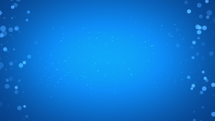 Side Particles Background Seamless Loop Blue Cyan | Shutterstock HD Video #1066248325